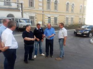 Рабочая встреча с зампредом Кузьминым И.Г.