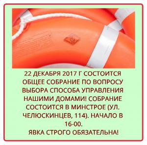 """Собрание по созданию ТСН """"Универ-59"""""""